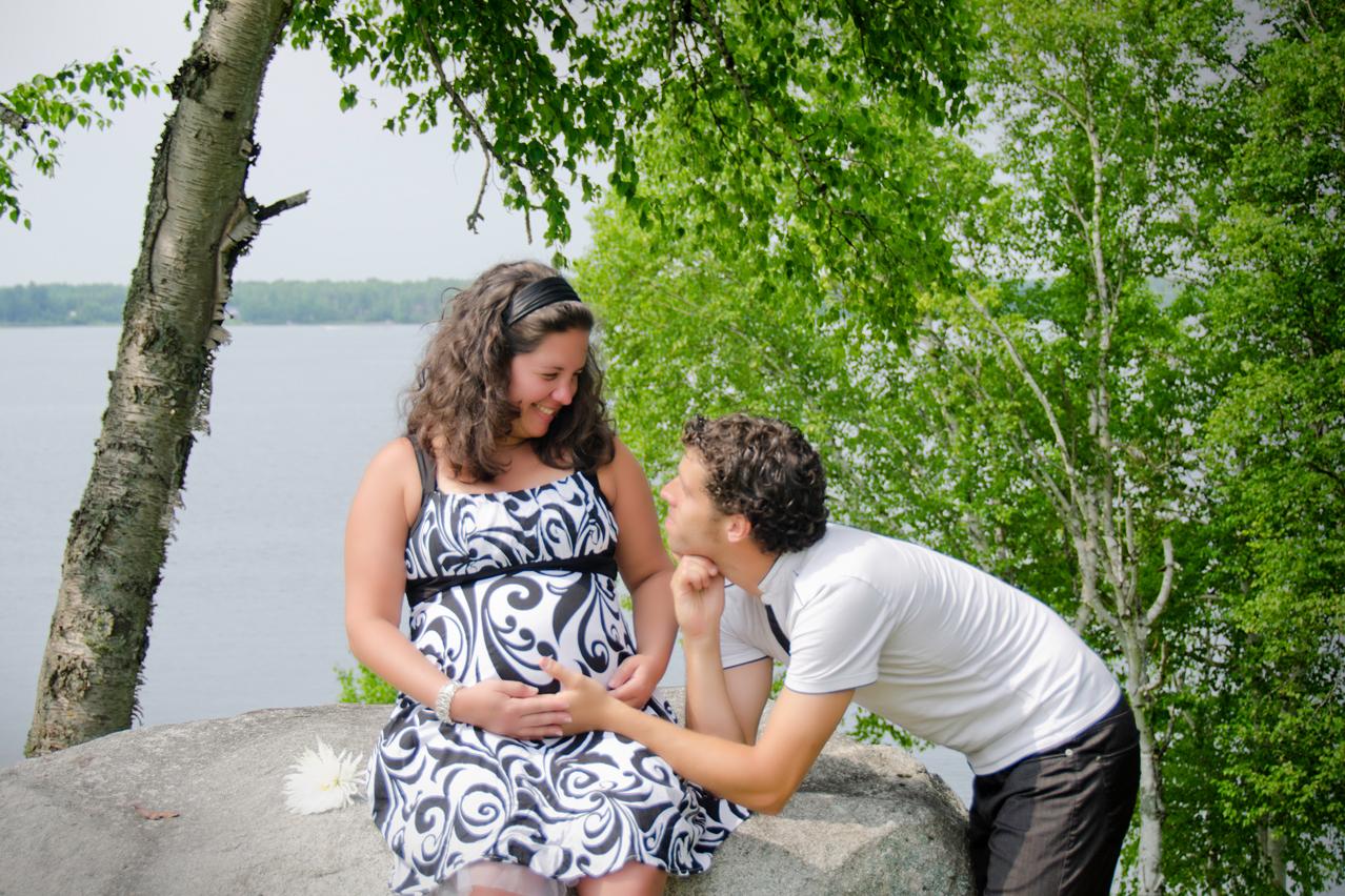 Séance maternité - Elodie et Ronan, Jarmila Guivarch Photographe à Val-d'Or
