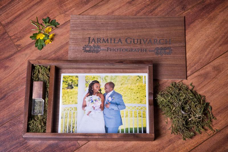 Boite personalisable pour les mariés - Jarmila Guivarch Photographe, Val-d'or