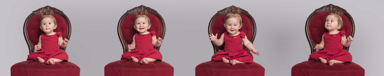 Séance chaise rouge - Jarmila Guivarch Photographe à Val-d'or