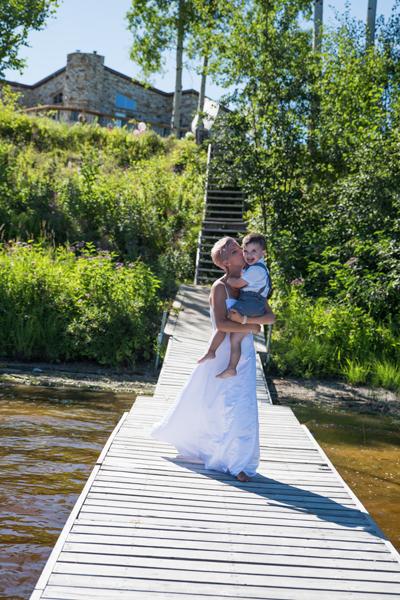 Mariage au bord de l'eau Val-d'Or - Jarmila Guivarch Photographe