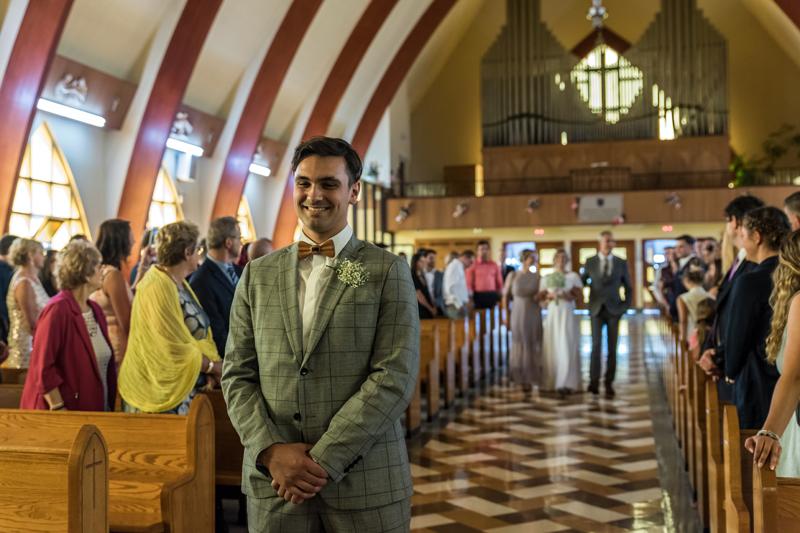 Mariage l'église St. Sauveur, Val-d'or