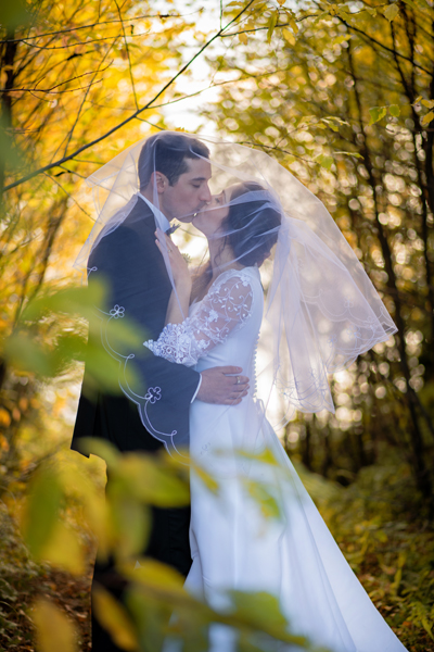 Mariage automne, Auberge Harricana, Val-d'or
