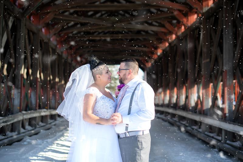 Mariage sous la neige, Val-d'or