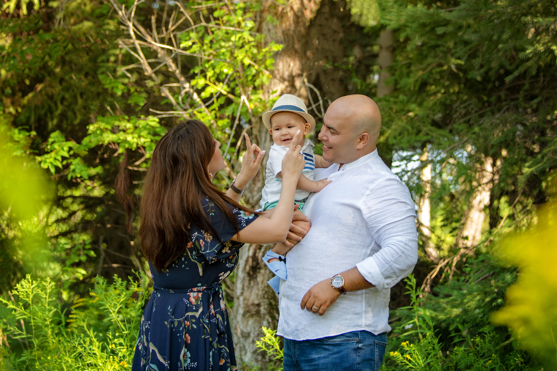 famille, amour, été, bébé, Val-d'or